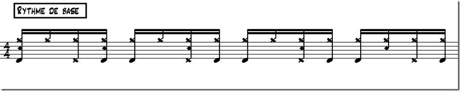 bossa nova rythme de base