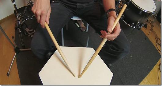 position poignet traditionelle
