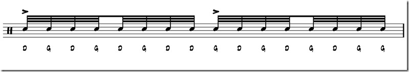 triple paradiddle