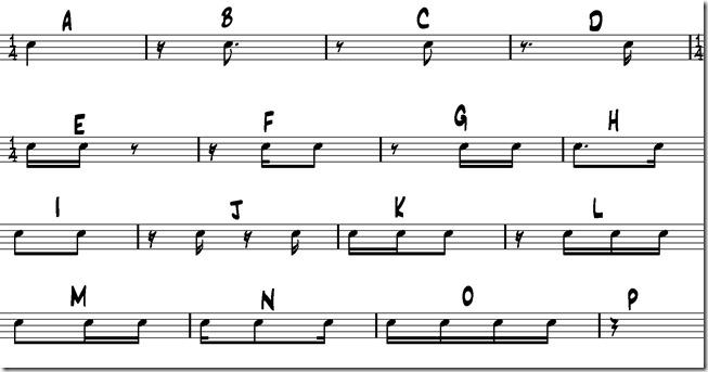 alphabet rythmique binaire benny greb