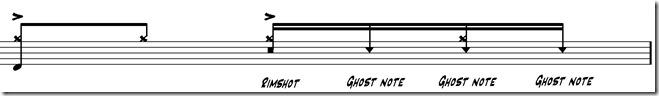 ghost notes deuxième temps 7
