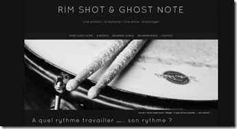 rim shot & ghosts notes