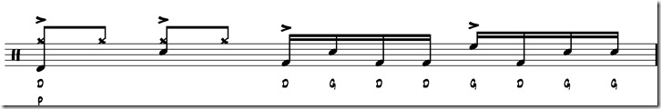 break simple paradiddle 3