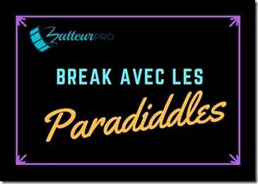 5 breaks de batterie simple paradiddle