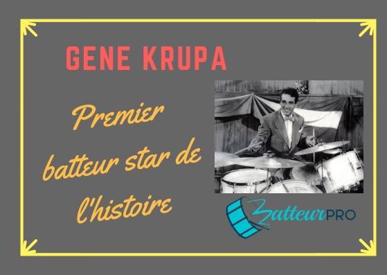 Batteur Gene Krupa