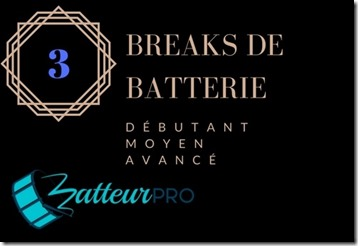 breaks de batterie pour ajuster la difficulté
