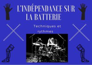 L'indépendance à la batterie