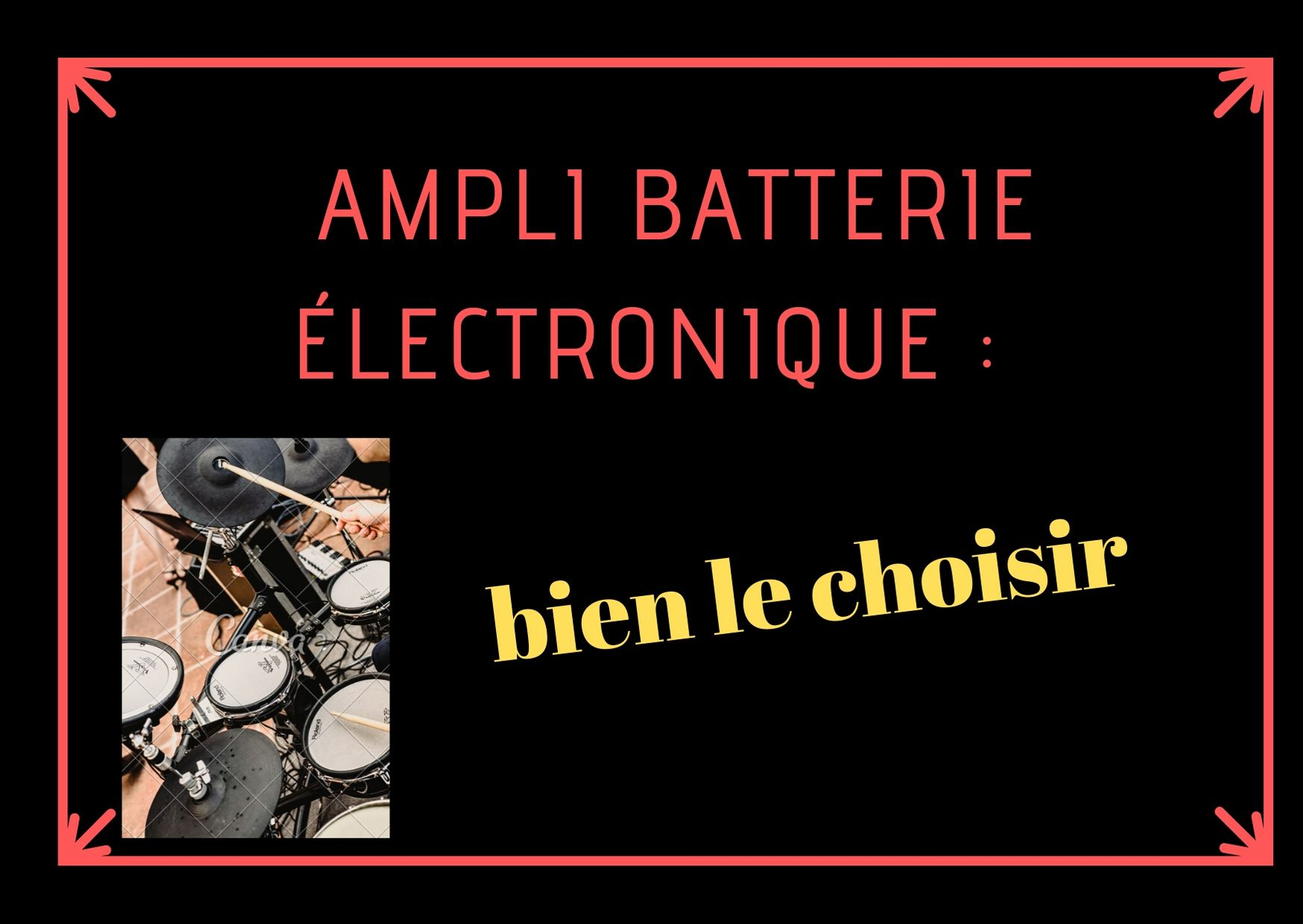 ampli batterie electronique