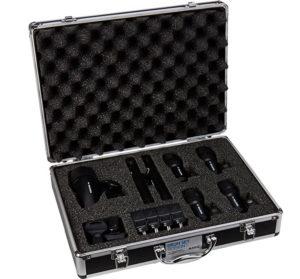 enregistrer une batterie acoustique set de micros akg